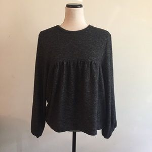 Soft Peasant Sweater